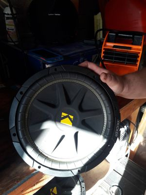 "Two 12 "" kicker subwoofers for Sale in US"