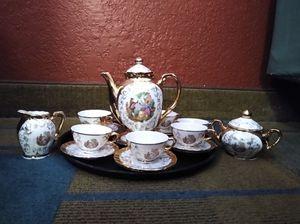 Bavaria Courting Couple Coffee/Tea/Demitasse Set for Sale in Costa Mesa, CA