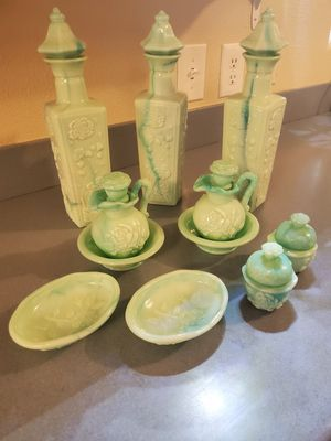 Avon Collectibles- Jade Milk Glass for Sale in Silver Lake, WA