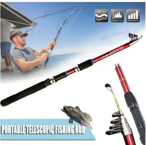Red Telescopic Fishing Rod for Sale in Fresno, CA