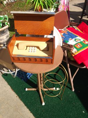 Antique Telephone. In a case. Early America for Sale in Ellenwood, GA