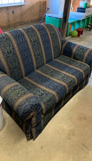 sleeper loveseat sofa (twin mattress) for Sale in Lawrenceburg, KY