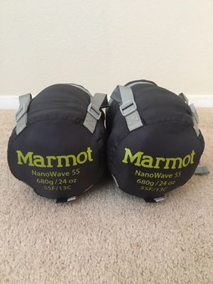 (2) Marmot Sleeping Bags for Sale in Las Vegas, NV