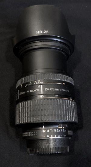 Lenses Nikon for Sale in Bedford Park, IL