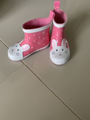 Kids Shoes Rain Boots Girl Toddler Carter's Size 6 for Sale in HALNDLE BCH, FL