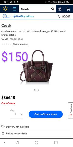 Brand new Coach bag for Sale in Norwalk, CA