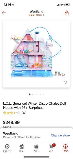 Lol Surprise Winter Chalet Doll House w/ 95+ surprises for Sale in Ypsilanti, MI