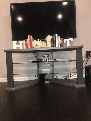 Grey Modern TV Stand for Sale in Alexandria, VA