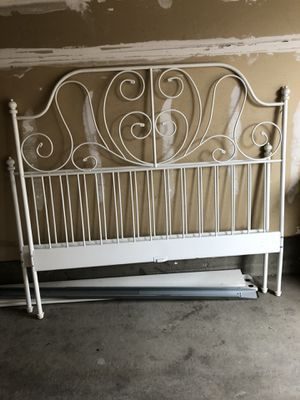 IKEA bed frame for sale (Queen size) for Sale in Denver, CO