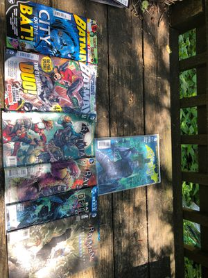 Batman Detective Comic Mint Condition/ Batman Variety Comics for Sale in Rockville, MD