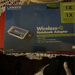 Linksys Notebook-G Wireless adapter for Sale in Richmond, VA