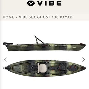 Vibe Seaghost 130 Kayak for Sale in Brunswick, OH