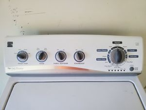 Electric Kennmore high efficiency washer for Sale in Barclay, MD
