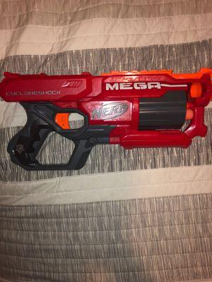 Mega cyclonshock nerf gun for Sale in Phoenix, AZ