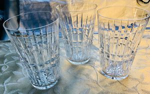 Crystal Tumblers. Waterford. Pattern Glenmore for Sale in Ruston, WA