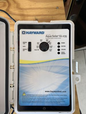 Hayward Pool Solar Controller and Valve for Sale in Cape Coral, FL