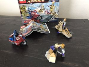 LEGO Super Heroes Captain Americas Avenger Cycle for Sale in Canby, OR