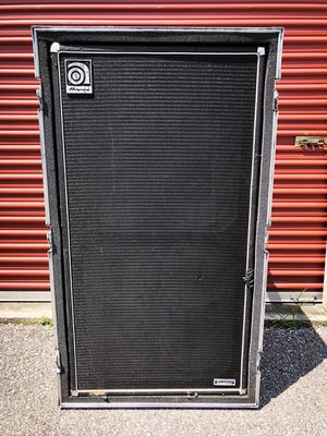 Ampeg 8x10 Bass Cabinet (SVT-810E) with Custom ATA Road Case for Sale in Nashville, TN