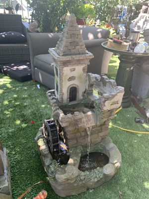 Castle fountain for Sale in Bell, CA