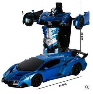 Car Sports Car Transformation Robots Models Remote Control Deformation Car RC fightingGiFT toy KidsChildren's Birthday for Sale in Westlake, MD