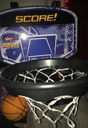 Little basketball hoop you can hang on any door COMES WITH BASKETBALL for Sale in Las Vegas, NV