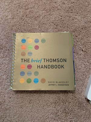 Writing Textbook - The Brief Thompson Handbook for Sale in Chesterfield, MO