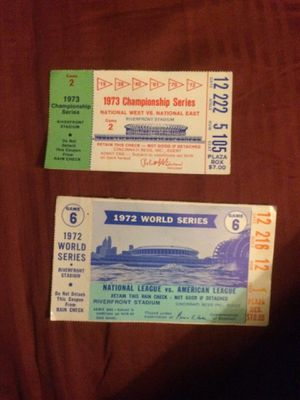 Old baseball tickets for Sale in Lexington, KY