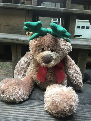 Holiday teddy bear for Sale in Wellesley, MA