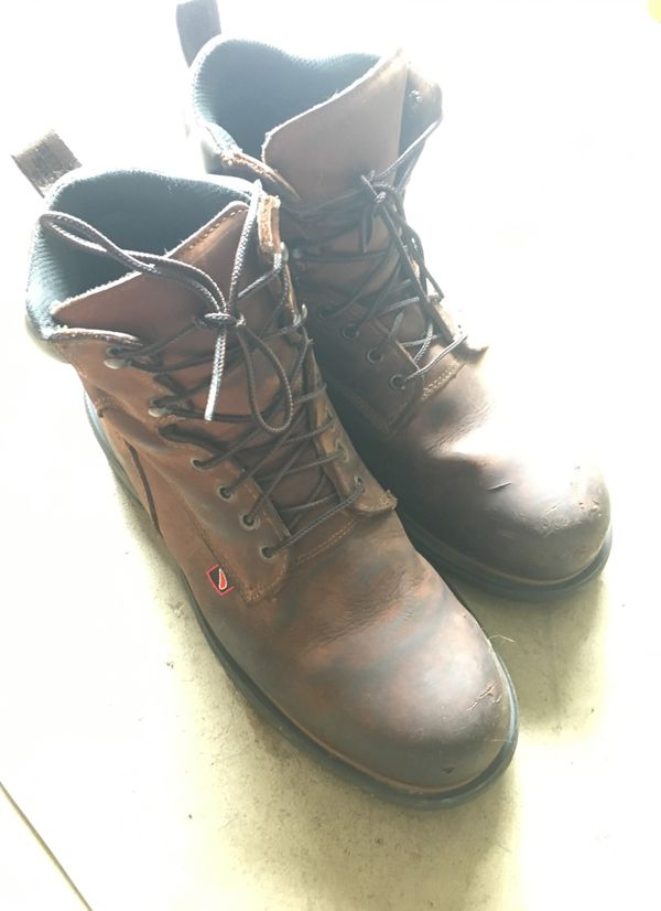 Red Wing Brand Steel Toe WorkBoots Barely Used 11.5 Mens