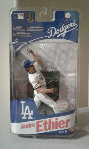 Andre Ethier autographed McFarlane toys baseball figures for Sale in Maricopa, AZ