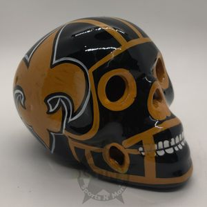 New Orleans Saints Jr Concept Sugar Skull for Sale in Corona, CA