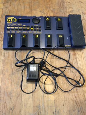 Boos GT3 Guitar Effects Processor for Sale in Dublin, CA