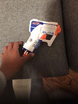 NERF GUN WHITE AND BLUE and orange for Sale in Livingston, NJ