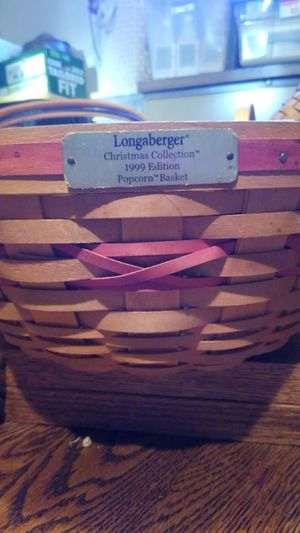 Vintage Longaberger Christmas Collection 1999 Edition for Sale in Greenville, SC