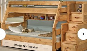 Wood Bunk Bed for Sale in Puyallup, WA