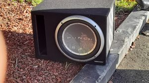 "12"" Rockford Fosgate subwoofer for Sale in Hayward, CA"