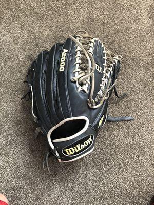 Black/Grey Wilson A2000 12 3/4 Baseball/Softball Glove for Sale in Claremont, CA
