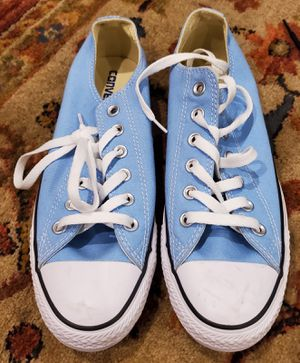 Converse Baby Blue Low Top Sneakers Sz 9/Mens 7 for Sale in Montclair, CA