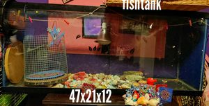 Fish tank , good for reptiles to for Sale in Summit, IL