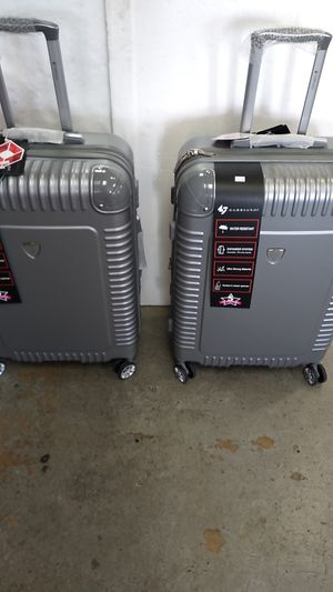 GABBIANO LUGGAGE 2 PIECE SET $90 BRAND NEW 8 WHEEL SPINNERS LIGHT WEIGHT. for Sale in HALNDLE BCH, FL