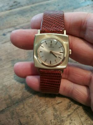Omega Swiss Solid 14k Gold Manual Wind Men's Watch for Sale in Washington, DC