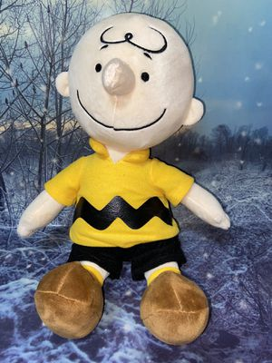 "Charlie Brown Plush 15"" from peanuts snoopy for Sale in Long Beach, CA"