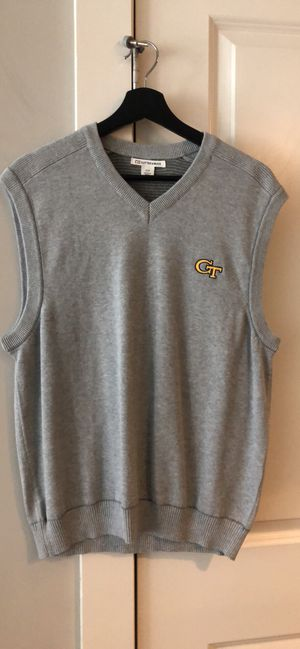 NEW Cutter & Buck Georgia Tech Gray Sweater Vest for Sale in Atlanta, GA