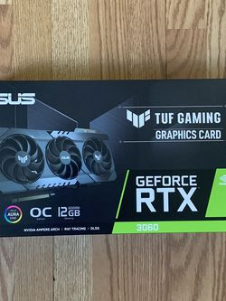 ASUS TUF Gaming GeForce RTX 3060 OC Edition 12GB for Sale in Queens,  NY