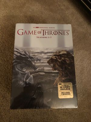 Game of thrones season 1-7 Box set (never open) for Sale in Issaquah, WA