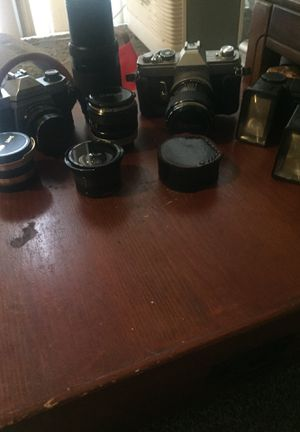 35 mm cameras and lens for Sale in Las Vegas, NV