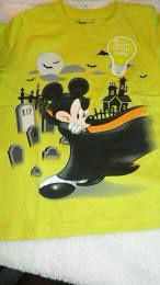 Mickey Mouse as Dracula Disney Tee Shirt Glow in Dark size 5/6 for Sale in Montebello, CA