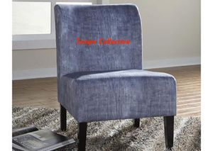 NEW, Triptis Denim Accent Chair, SKU# A3000069 for Sale in Huntington Beach, CA