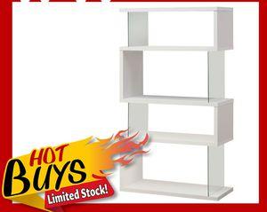 Nova Modern Glossy White Bookcase for Sale in Dallas, TX