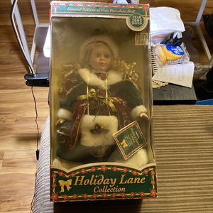 Holiday Lane Collection Doll for Sale in Apopka, FL